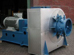 Industriële centrifugaalventilator.