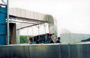 Afzuiginstallaties biogassen